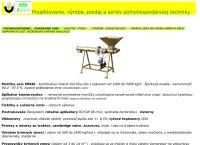Web stránka STS Levice s.r.o. je