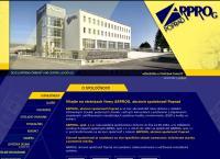 Web stránka Arprog a.s. je