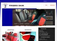 Web stránka TREND E&M je
