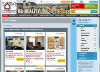Web stránka Bb - Reality S.r.o. je