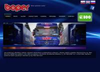 Web stránka Boper je