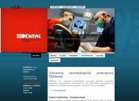 Web stránka DDDental s.r.o. je