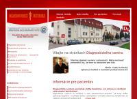 Web stránka Dg. s.r.o. je