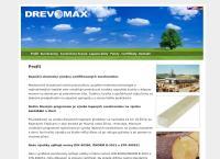 Web stránka DREVOMAX s.r.o. je