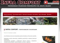 Web stránka Infra Comfort Igor Stancík je