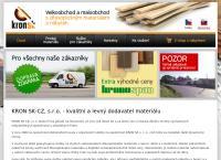 Web stránka Kron Sk, S.r.o. je