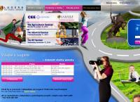 Web stránka Lugera & Maklér Temps s.r.o. je