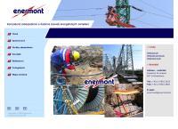 Web stránka Enermont S.r.o. Bratislava je