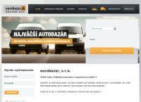Web stránka eurobazar, s.r.o. je