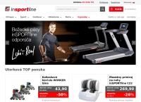 Web stránka inSPORTline s.r.o. Trenčín je