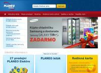 Web stránka Planeo Elektro Levice je