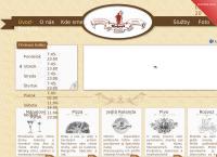 Web stránka Reštaurácia Roland je
