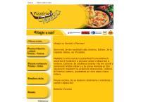 Web stránka Pizzéria Venézia je