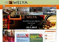 Web stránka Restaurant WELYA je