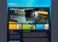 Web stránka Mediamasters, S.r.o. je