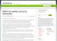 Web stránka Elektro Kostičák je
