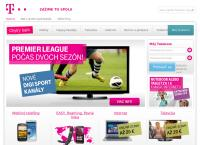 Web stránka Slovak Telekom, A.s. Zvolen je