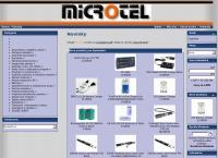 Web stránka Microtel-Jozef Vyrostek je