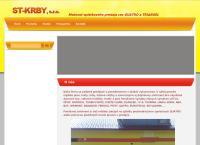 Web stránka St-Krby, S.r.o.kalná Nad Hronom je