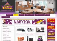 Web stránka Tempo Kondela Košice je