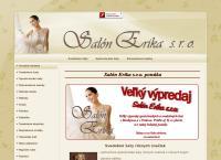 Web stránka Salón Erika S.r.o.prešov je