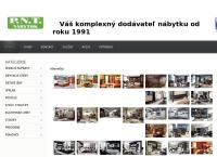 Web stránka P.n.t.nábytok je