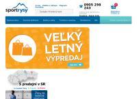 Web stránka sportrysy.sk Poprad je