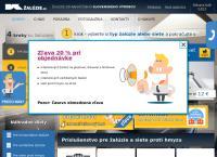 Web stránka Kzaluzie je
