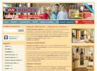 Web stránka KMK Kinček Nitra je