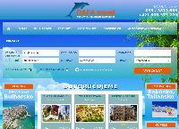 Web stránka CK DAFA travel je