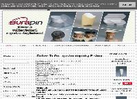 Web stránka Burapin s.r.o. je