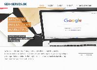 Web stránka SEO Servis je