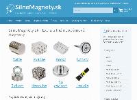 Web stránka SilneMagnety.sk s.r.o. je
